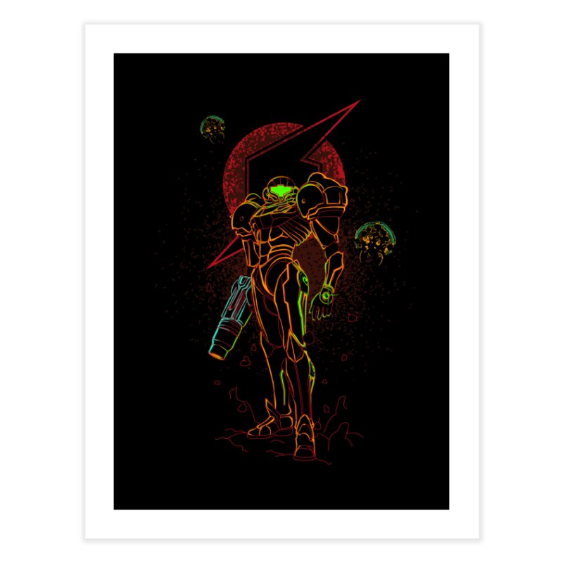 Shadow of bounty hunter Home Fine Art Print by Donnie's Artist Shop