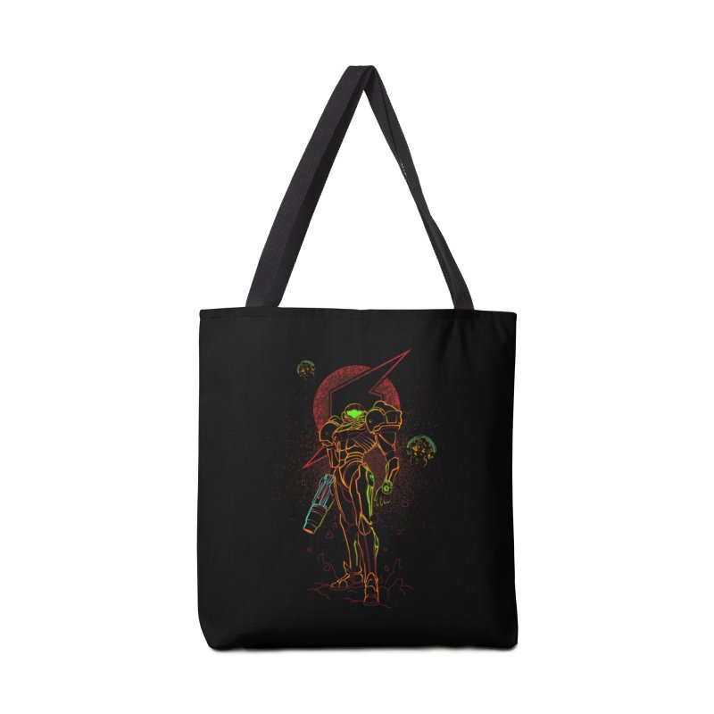 Shadow of bounty hunter Accessories Bag by Donnie's Artist Shop