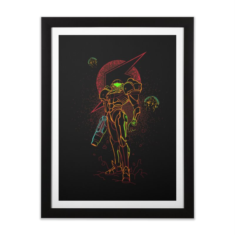 Shadow of bounty hunter Home Framed Fine Art Print by Donnie's Artist Shop