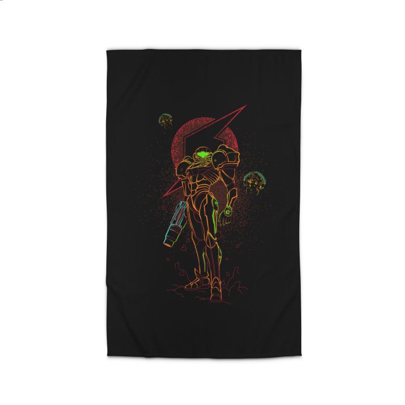 Shadow of bounty hunter Home Rug by Donnie's Artist Shop