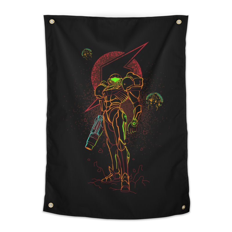 Shadow of bounty hunter Home Tapestry by Donnie's Artist Shop