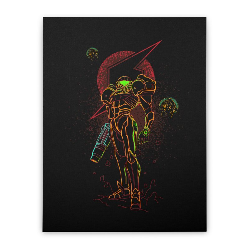Shadow of bounty hunter Home Stretched Canvas by Donnie's Artist Shop