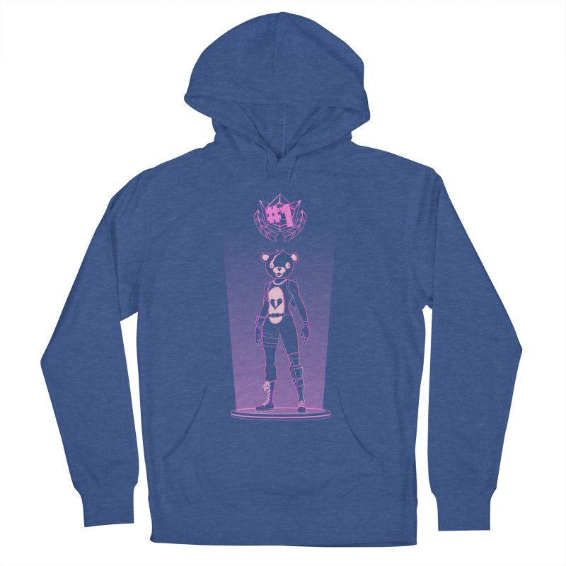 Shadow of the Teddy Bear Women's French Terry Pullover Hoody by Donnie's Artist Shop