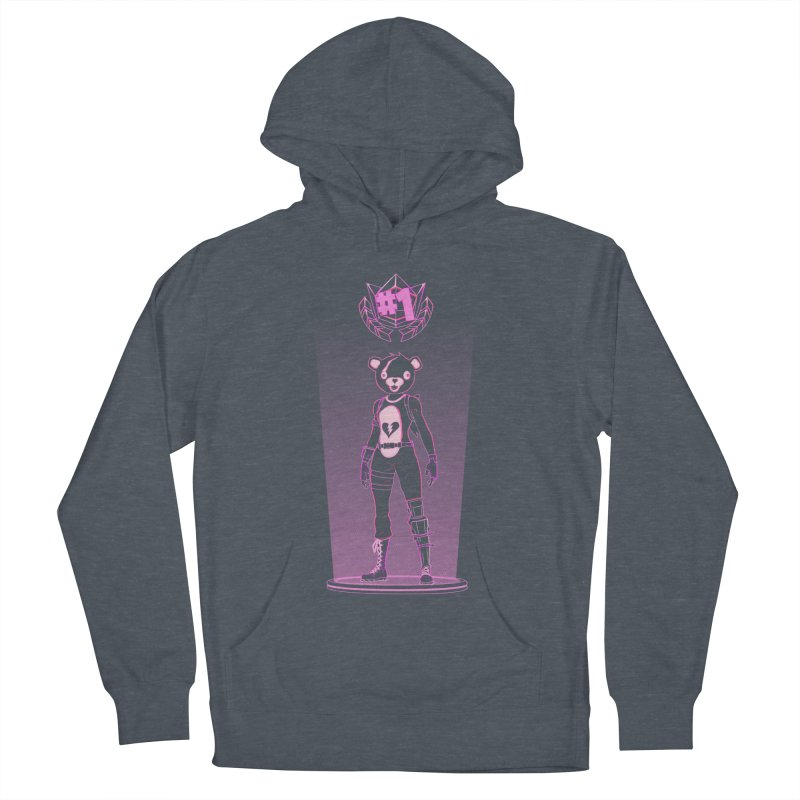 Shadow of the Teddy Bear Men's French Terry Pullover Hoody by Donnie's Artist Shop