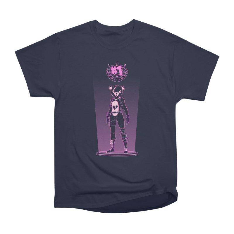 Shadow of the Teddy Bear Men's Heavyweight T-Shirt by Donnie's Artist Shop