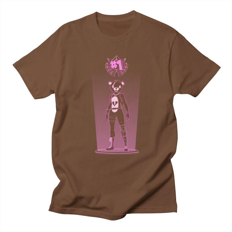 Shadow of the Teddy Bear Women's Regular Unisex T-Shirt by Donnie's Artist Shop