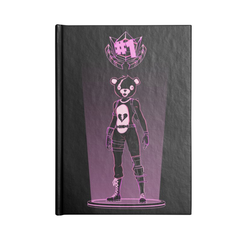 Shadow of the Teddy Bear Accessories Notebook by Donnie's Artist Shop
