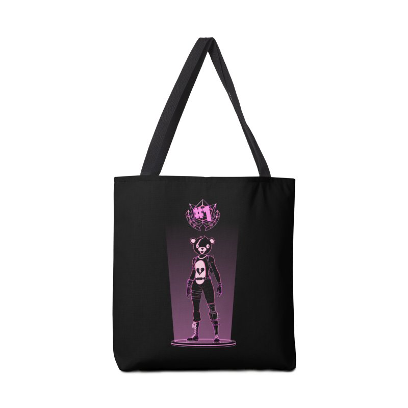 Shadow of the Teddy Bear Accessories Bag by Donnie's Artist Shop