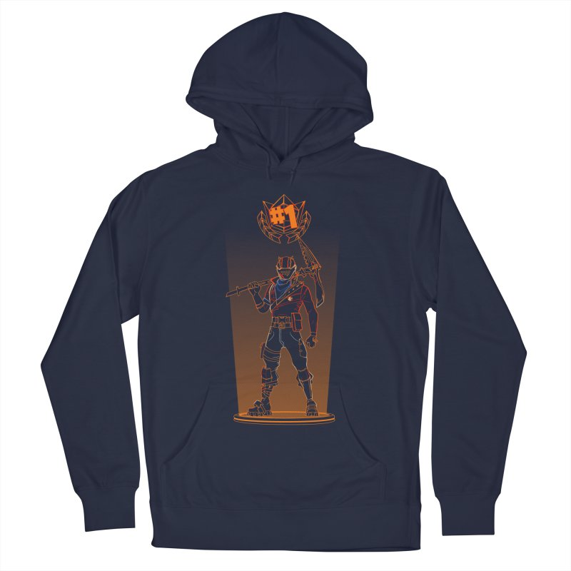 Shadow of the Rust Lord Men's French Terry Pullover Hoody by Donnie's Artist Shop