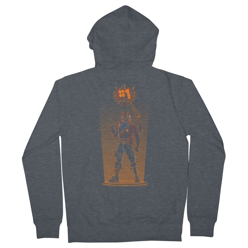 Shadow of the Rust Lord Women's French Terry Zip-Up Hoody by Donnie's Artist Shop