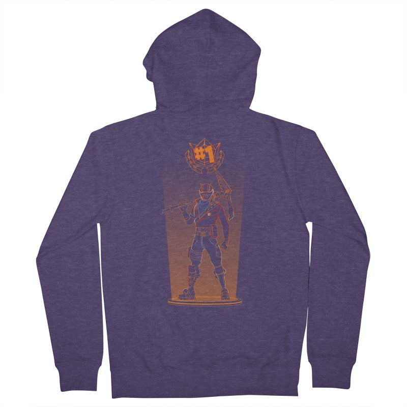 Shadow of the Rust Lord Men's Zip-Up Hoody by Donnie's Artist Shop
