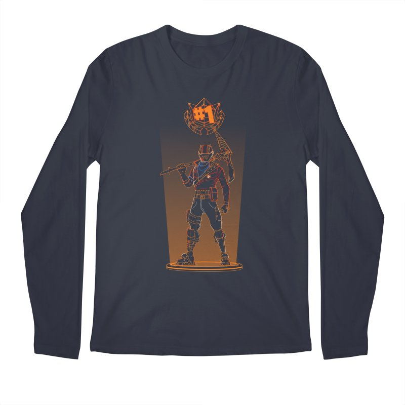 Shadow of the Rust Lord Men's Regular Longsleeve T-Shirt by Donnie's Artist Shop