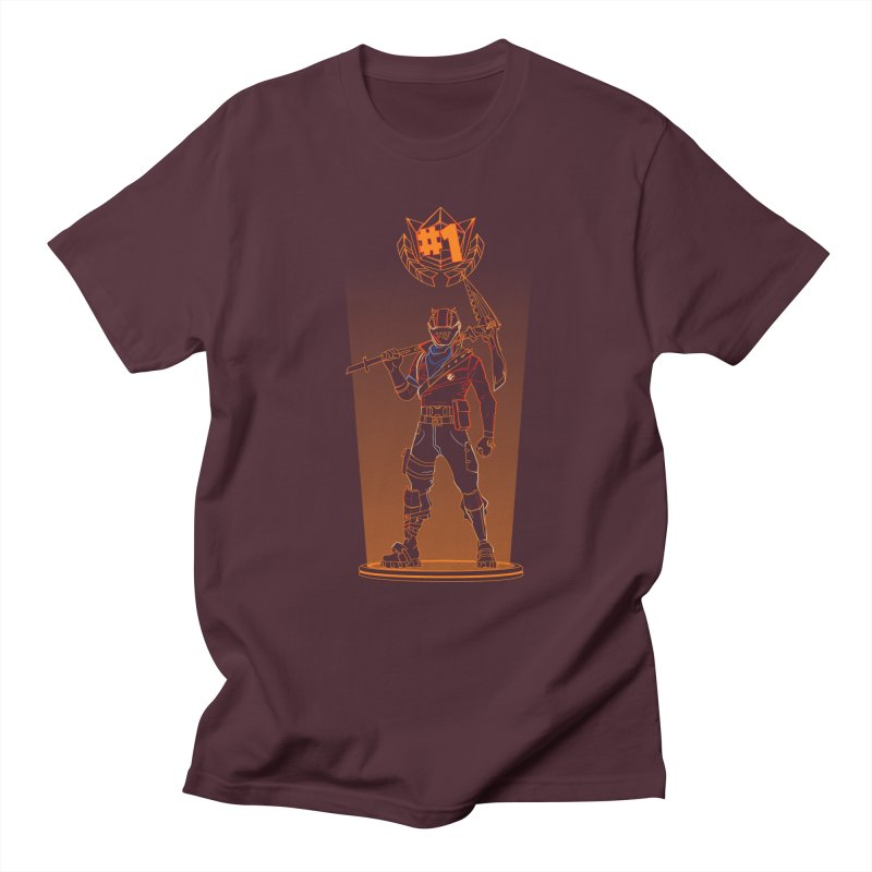 Shadow of the Rust Lord Men's Regular T-Shirt by Donnie's Artist Shop