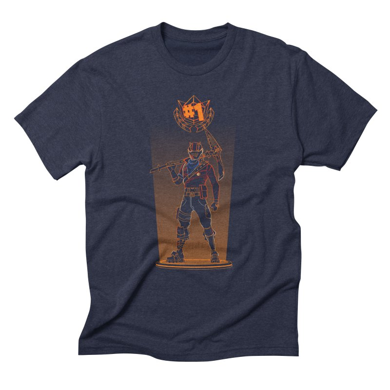 Shadow of the Rust Lord Men's Triblend T-Shirt by Donnie's Artist Shop