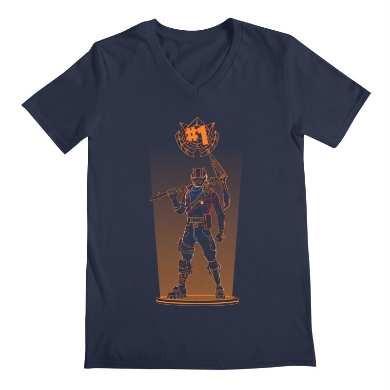 Shadow of the Rust Lord Men's Regular V-Neck by Donnie's Artist Shop