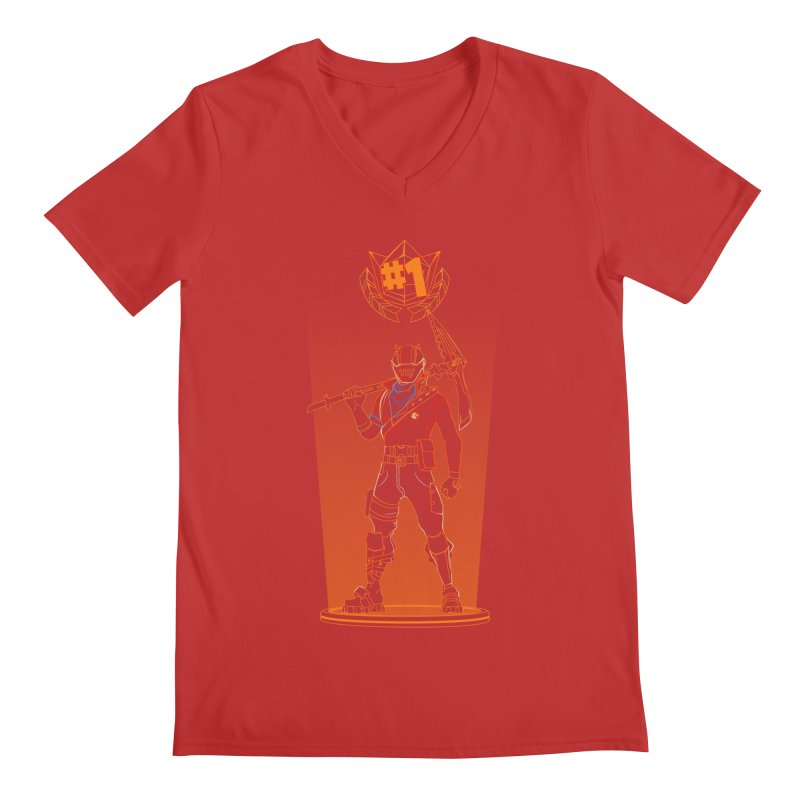 Shadow of the Rust Lord Men's V-Neck by Donnie's Artist Shop