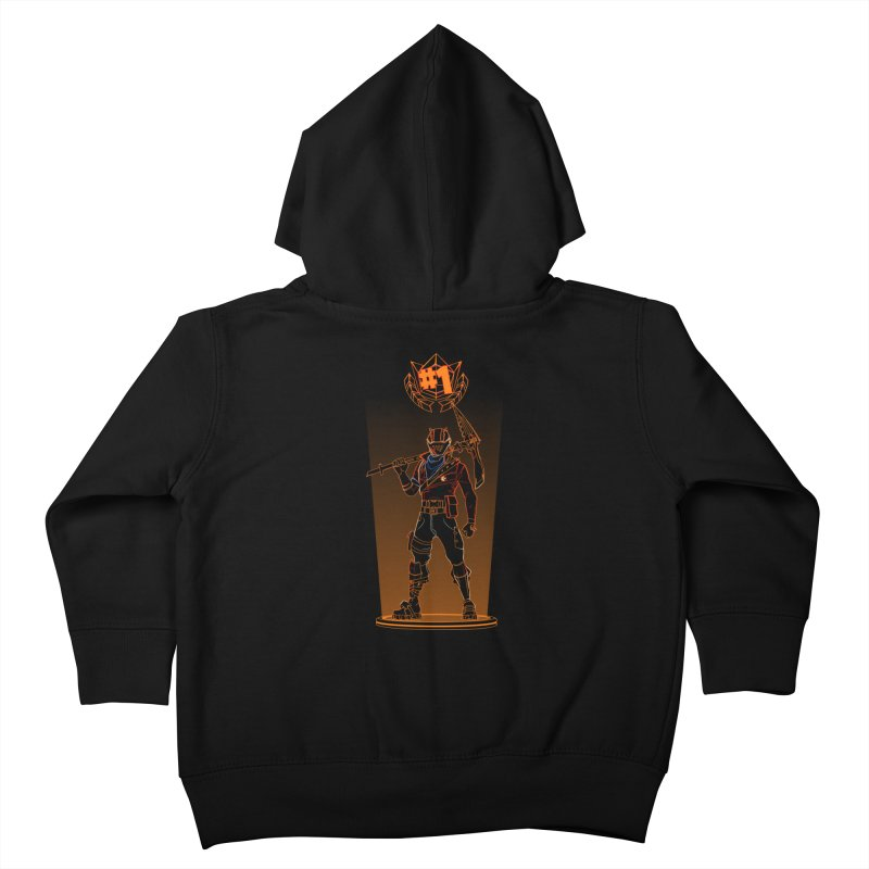 Shadow of the Rust Lord Kids Toddler Zip-Up Hoody by Donnie's Artist Shop