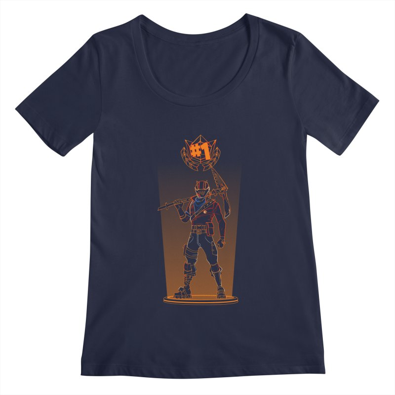 Shadow of the Rust Lord Women's Regular Scoop Neck by Donnie's Artist Shop