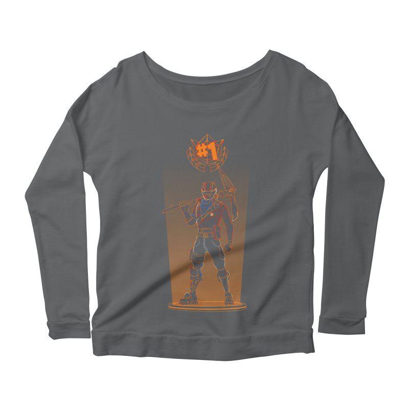 Shadow of the Rust Lord Women's Longsleeve Scoopneck  by Donnie's Artist Shop
