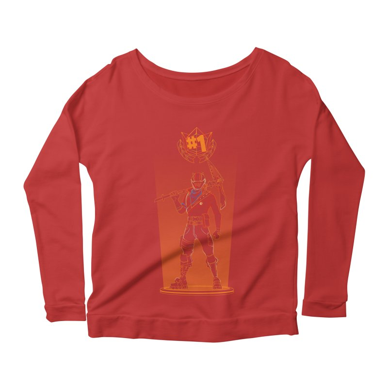 Shadow of the Rust Lord Women's Scoop Neck Longsleeve T-Shirt by Donnie's Artist Shop