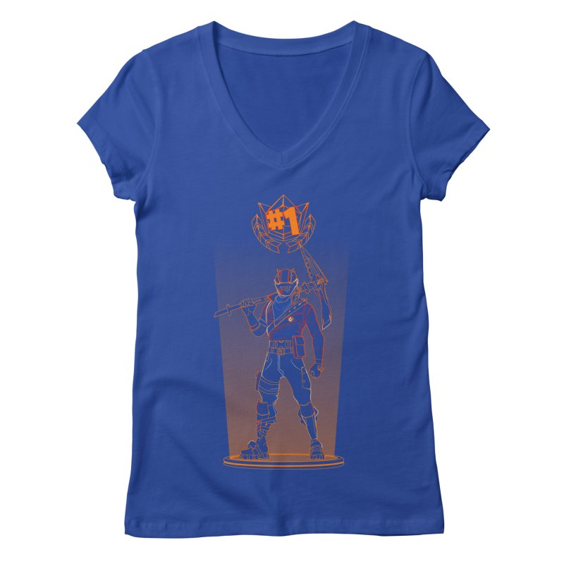 Shadow of the Rust Lord Women's Regular V-Neck by Donnie's Artist Shop