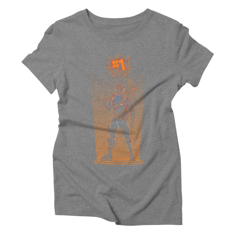Shadow of the Rust Lord Women's Triblend T-Shirt by Donnie's Artist Shop