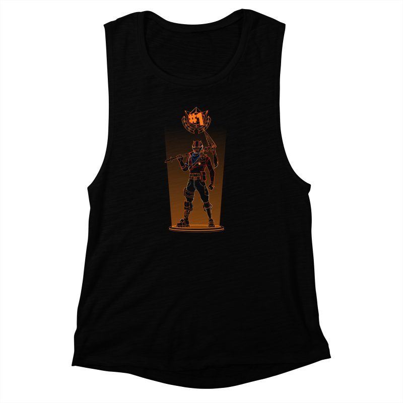 Shadow of the Rust Lord Women's Muscle Tank by Donnie's Artist Shop