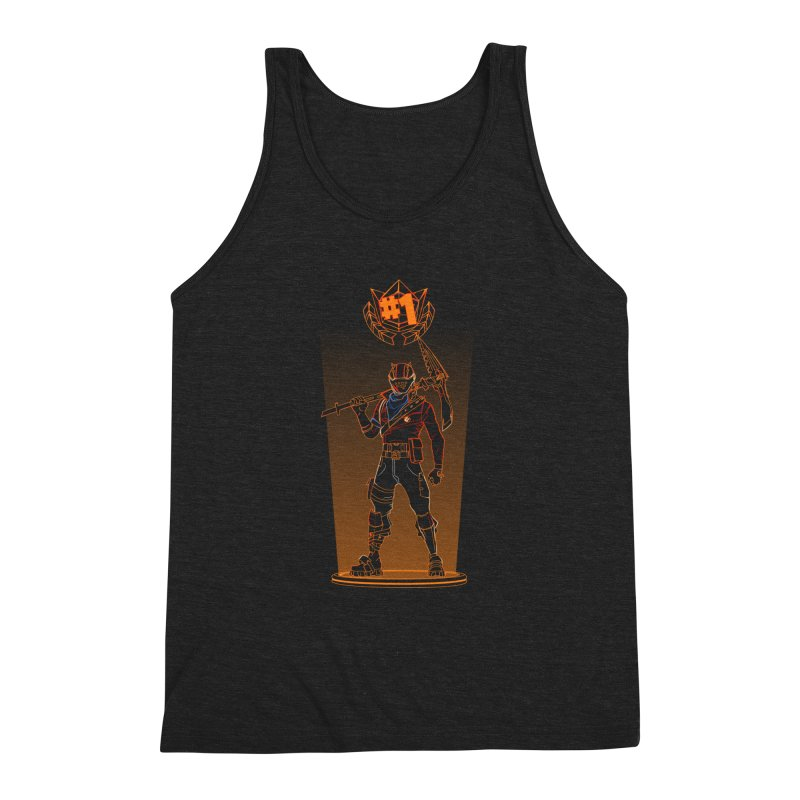 Shadow of the Rust Lord Men's Triblend Tank by Donnie's Artist Shop