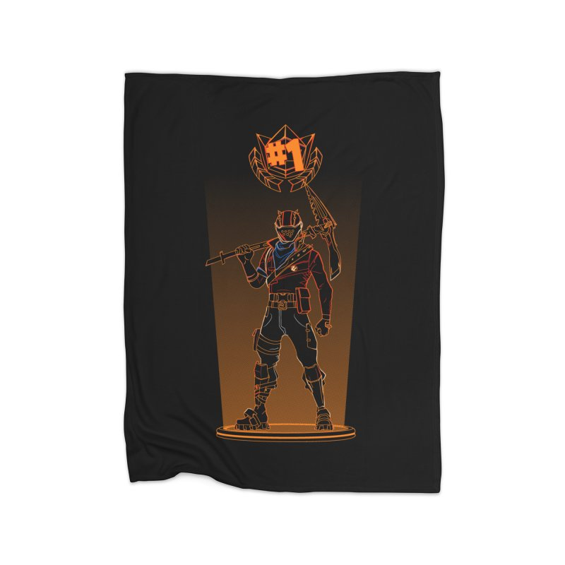 Shadow of the Rust Lord Home Blanket by Donnie's Artist Shop