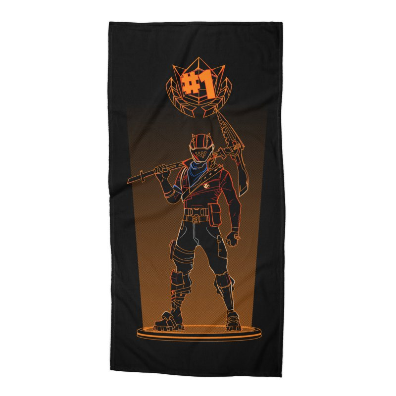 Shadow of the Rust Lord Accessories Beach Towel by Donnie's Artist Shop