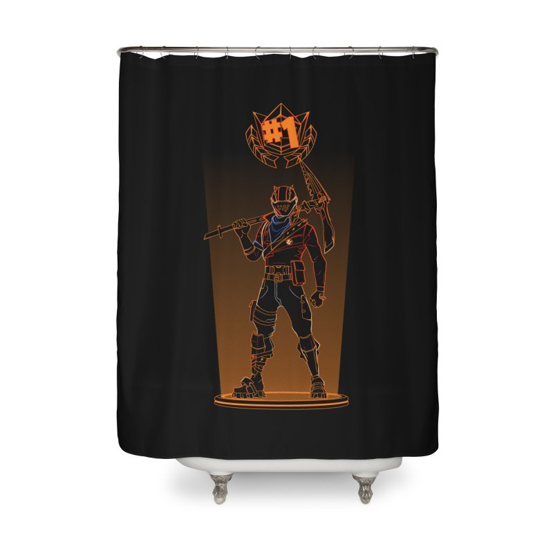 Shadow of the Rust Lord Home Shower Curtain by Donnie's Artist Shop