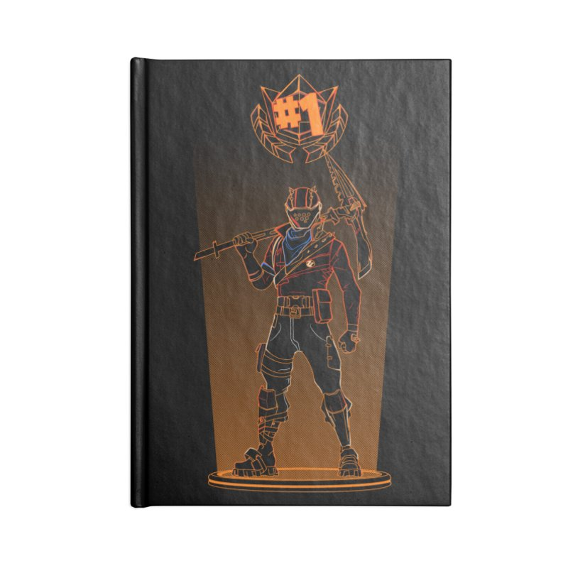 Shadow of the Rust Lord Accessories Notebook by Donnie's Artist Shop