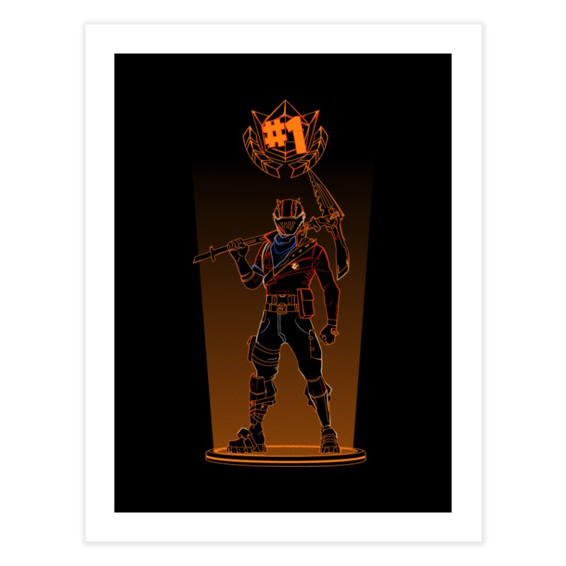 Shadow of the Rust Lord Home Fine Art Print by Donnie's Artist Shop