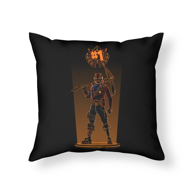 Shadow of the Rust Lord Home Throw Pillow by Donnie's Artist Shop