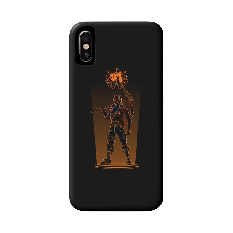 Shadow of the Rust Lord Accessories Phone Case by Donnie's Artist Shop