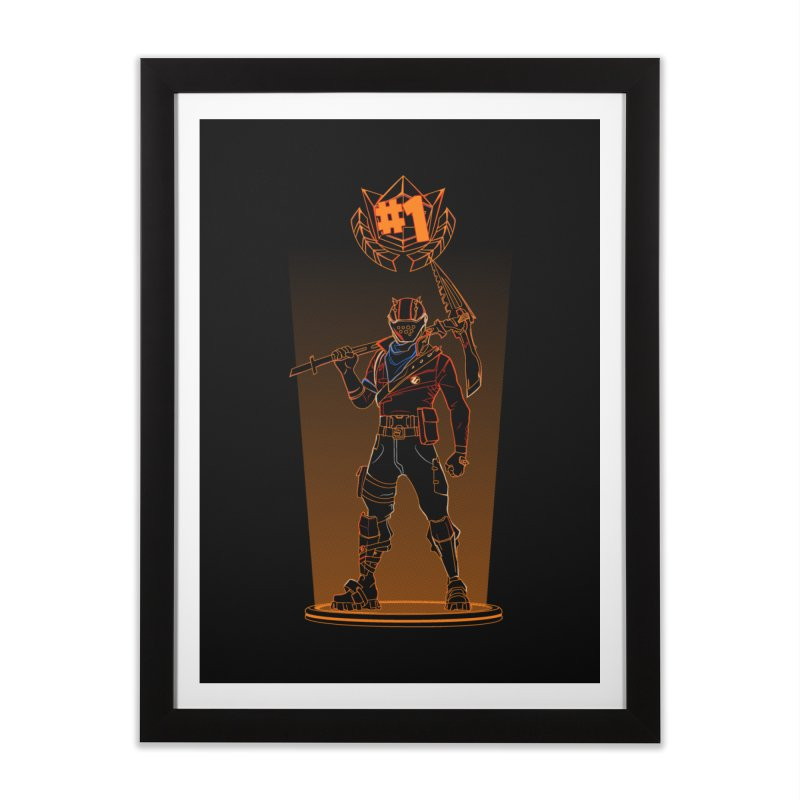 Shadow of the Rust Lord Home Framed Fine Art Print by Donnie's Artist Shop