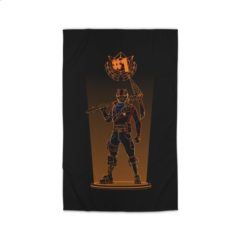 Shadow of the Rust Lord Home Rug by Donnie's Artist Shop