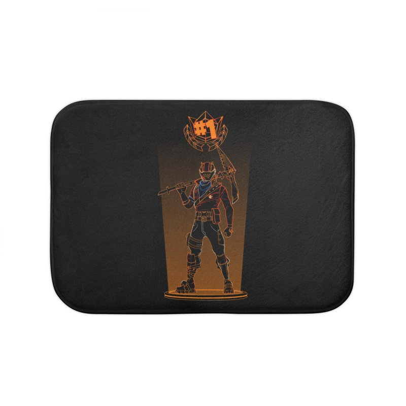 Shadow of the Rust Lord Home Bath Mat by Donnie's Artist Shop