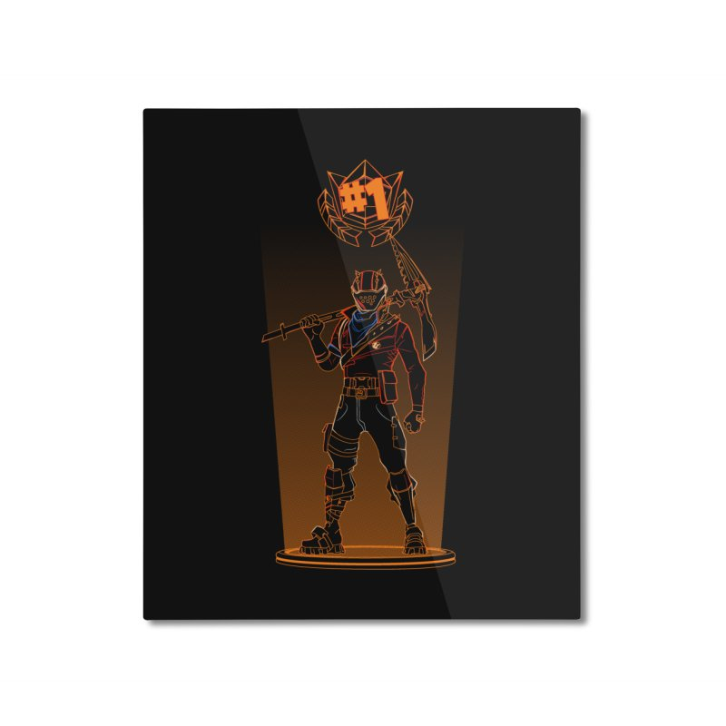 Shadow of the Rust Lord Home Mounted Aluminum Print by Donnie's Artist Shop