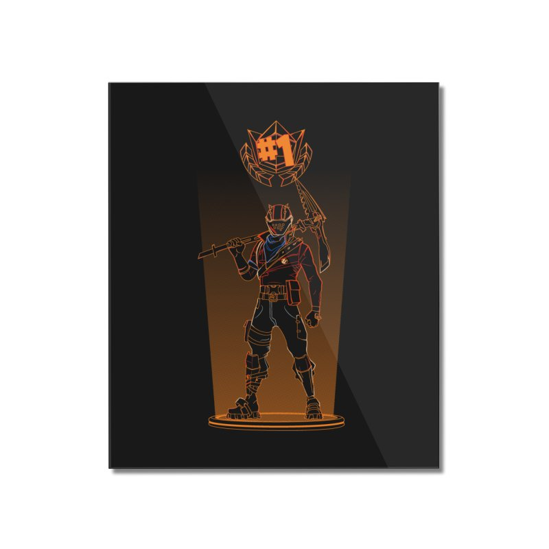 Shadow of the Rust Lord Home Mounted Acrylic Print by Donnie's Artist Shop