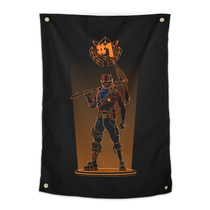 Shadow of the Rust Lord Home Tapestry by Donnie's Artist Shop