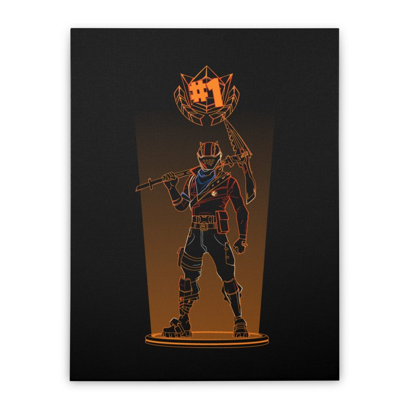 Shadow of the Rust Lord Home Stretched Canvas by Donnie's Artist Shop