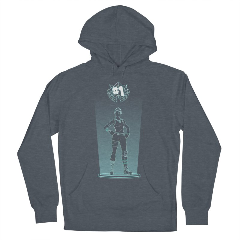 Shadow of the Recon Specialist Men's French Terry Pullover Hoody by Donnie's Artist Shop