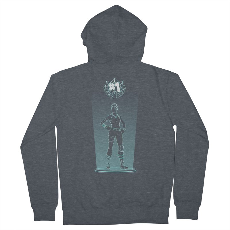 Shadow of the Recon Specialist Women's French Terry Zip-Up Hoody by Donnie's Artist Shop