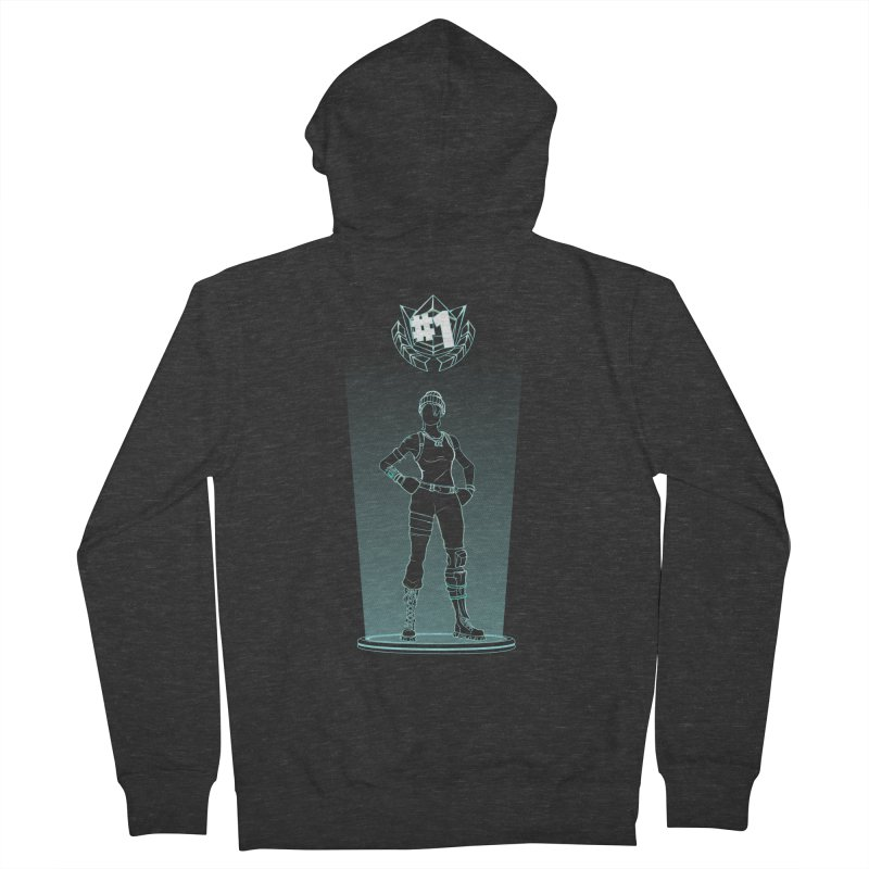 Shadow of the Recon Specialist Men's French Terry Zip-Up Hoody by Donnie's Artist Shop