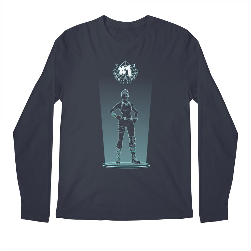 Shadow of the Recon Specialist Men's Regular Longsleeve T-Shirt by Donnie's Artist Shop