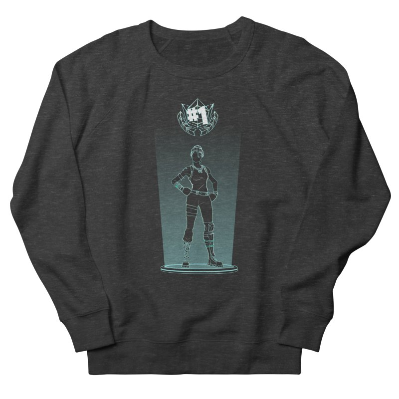 Shadow of the Recon Specialist Women's French Terry Sweatshirt by Donnie's Artist Shop