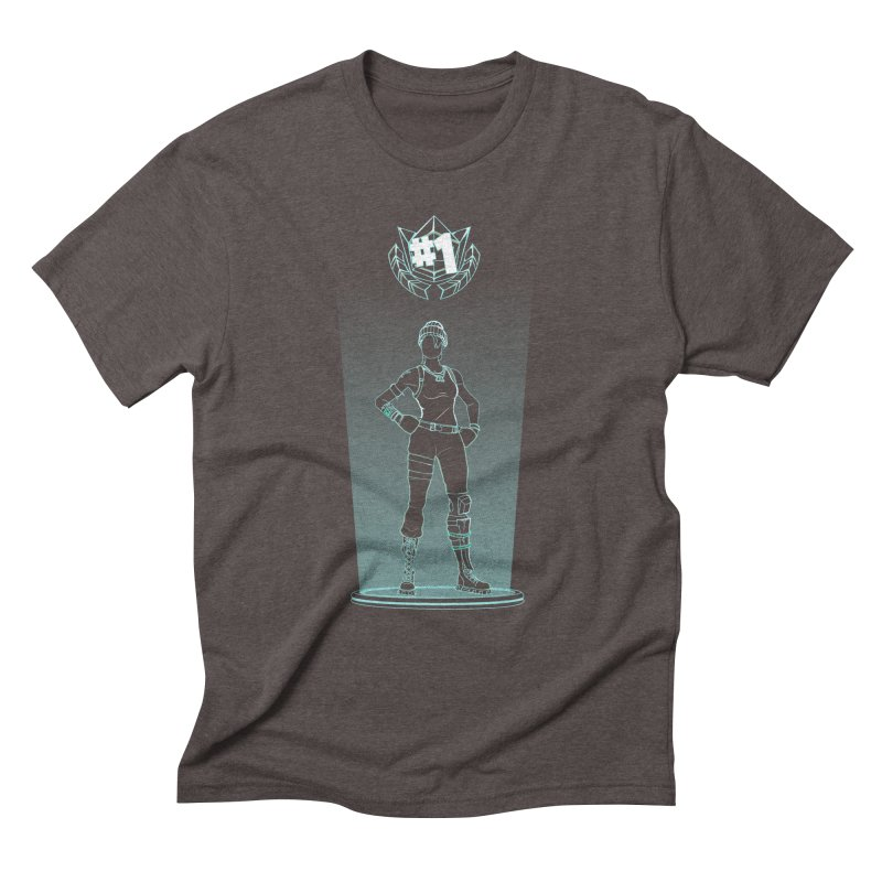Shadow of the Recon Specialist Men's Triblend T-Shirt by Donnie's Artist Shop