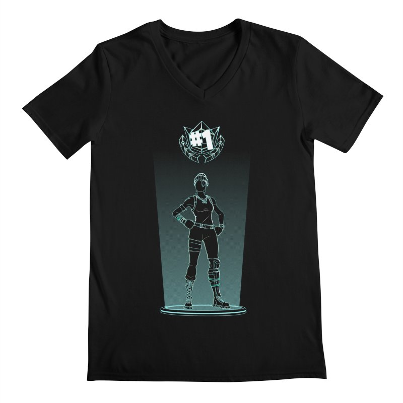 Shadow of the Recon Specialist Men's Regular V-Neck by Donnie's Artist Shop