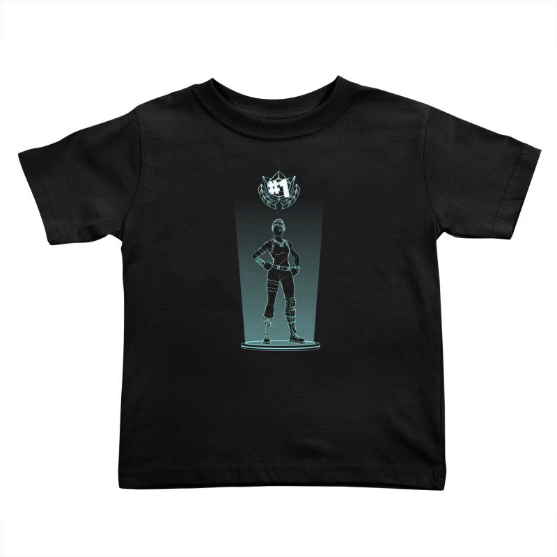 Shadow of the Recon Specialist Kids Toddler T-Shirt by Donnie's Artist Shop